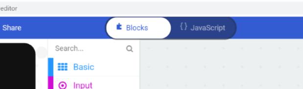 microbit block javascript