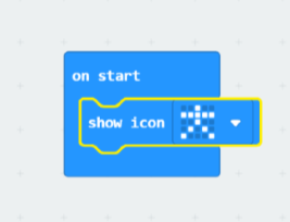 microbit different icon (man)